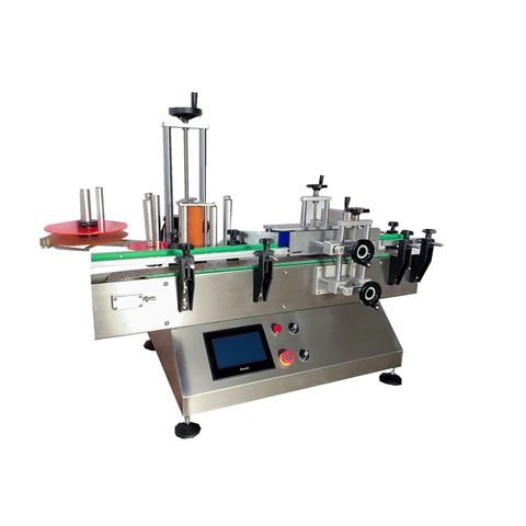 1000-6000bph Small Capacity Automatic Wrap-Around Labeling Machine