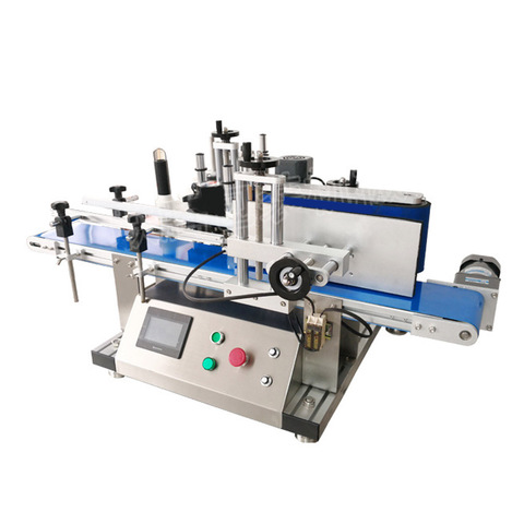 Full Automatic Glass Jar Paste Sleeve Labeling Machine
