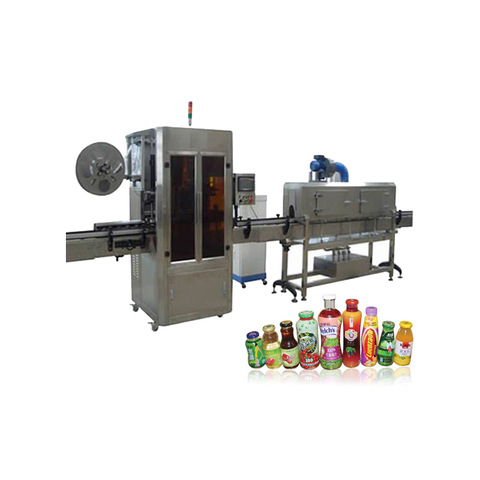 Automatic Double-Sides Adhesive Sticker Labeling Machine for Pet/Glass Bottle