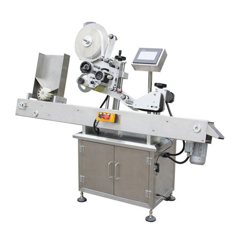 Automatic Small Bottle Filling Capping and Labeling Packing Machine