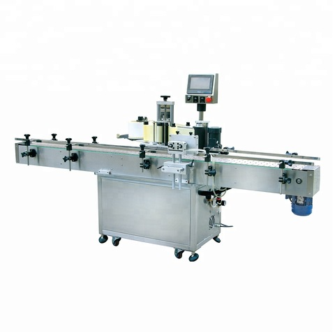 Semi Automatic Sticker Double Side Labeling Machine OPP labeling machine