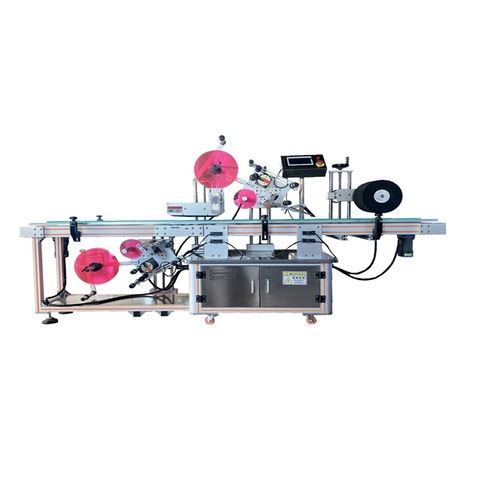 Lower Cost Automatic Label Applicator Machines Tube Labeling Machine (JS-A2-500)