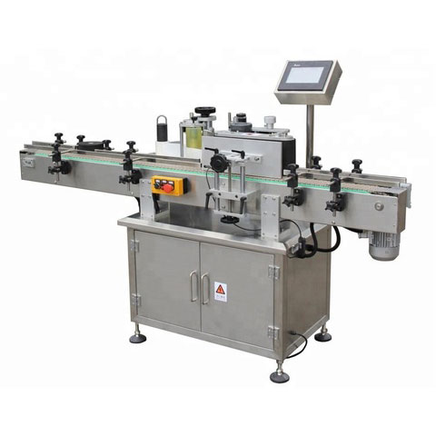 Full Automatic Plastic Glass Bottle Jar Cold Glue Labeling Machine for Food Beer Wine Beverage Paper Label