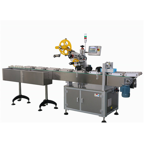 Automatic Top Bottom up Down Sticker Labeling Machine for Box Punnet Clamshell