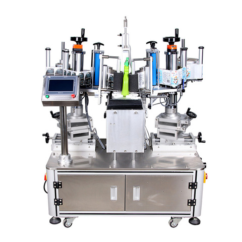 Mt-220 Flat Square Box Bag Label Applicator Liquid Soap Washing Syrup Honey Jar Printing Digital Flat Paper Tube Can Adhesive Sticker Label Labeling Machine