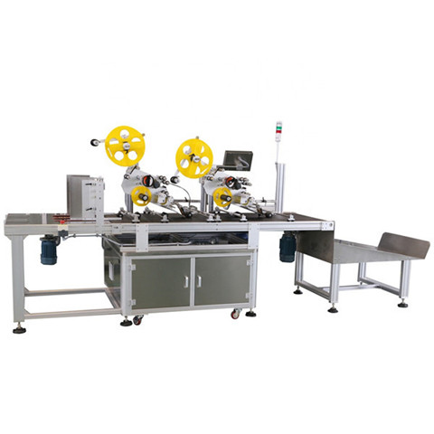 Automatic Top and Sides Bottle Labeling Machine