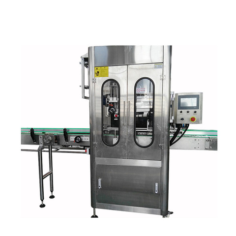 Full Automatic Bottle Volumecup Capping and Labeling Machine Paste Small and Big Filling Machine