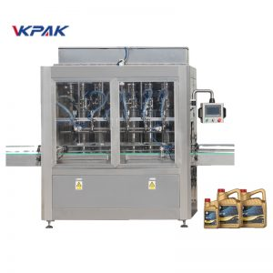 Automatic Linear Lubricating Oil Filling Machine