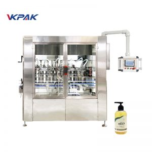Automatic Linear Servo Driven Liquid Soap Filling Machine