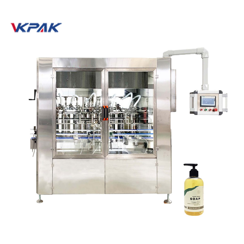 Automatic Linear Servo Driven Liquid Soap Filling Machine