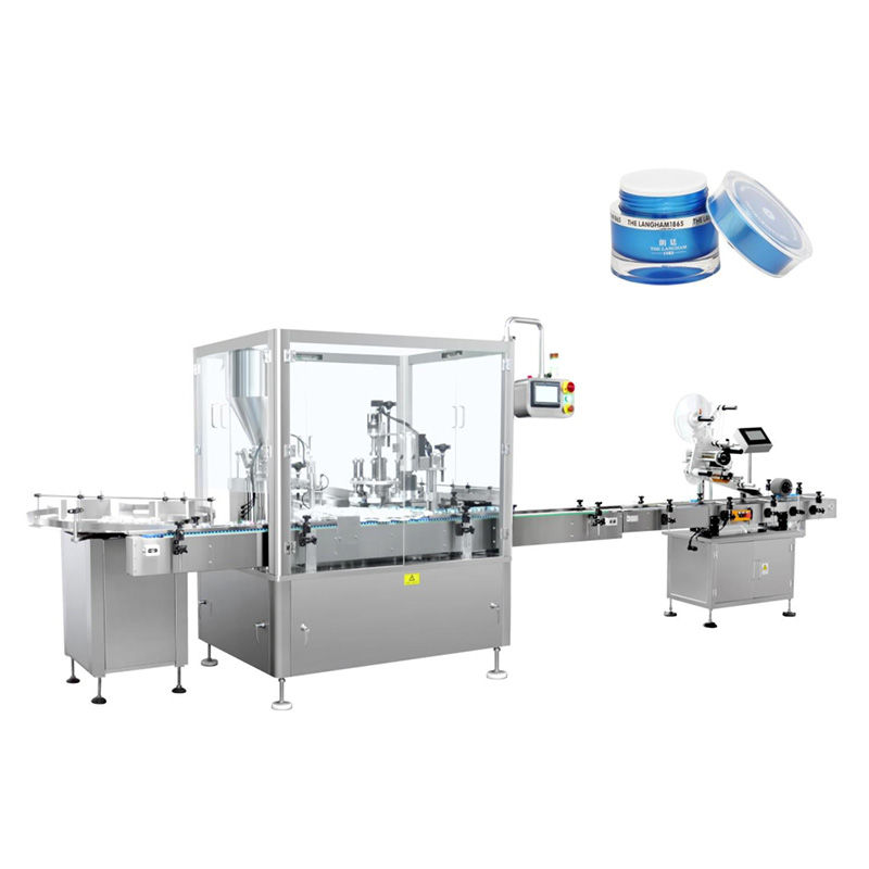 Automatic Lotion Filling and Capping Machine