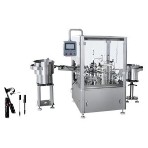 Automatic Mascara Filling And Plugging And Capping Machine