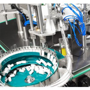 Automatic Nail Polish Filling And Capping Machine