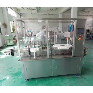Automatic Oral Liquid Syrup Filling And Capping Machine