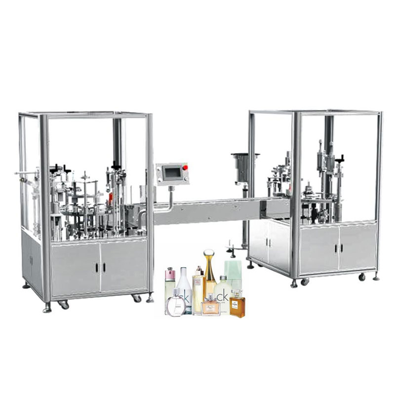 Automatic Perfume Filling And Capping Machine