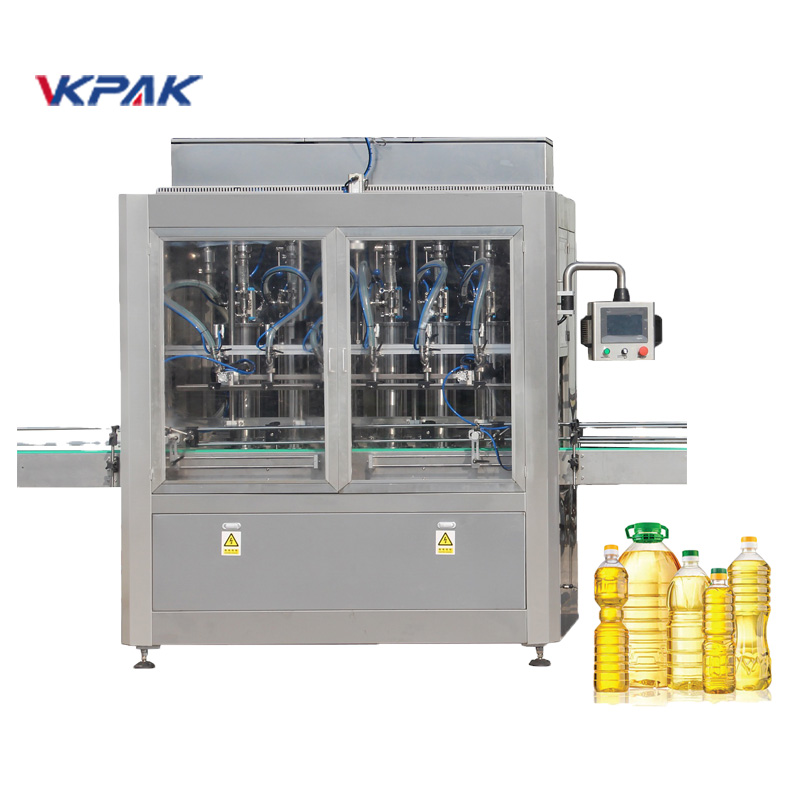 Automatic Pet Bottle Sunflower Vegetable Oil Filling Bottling Equipment