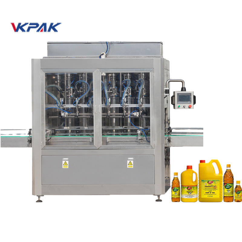 Automatic Piston Type Liquid Filling Machine
