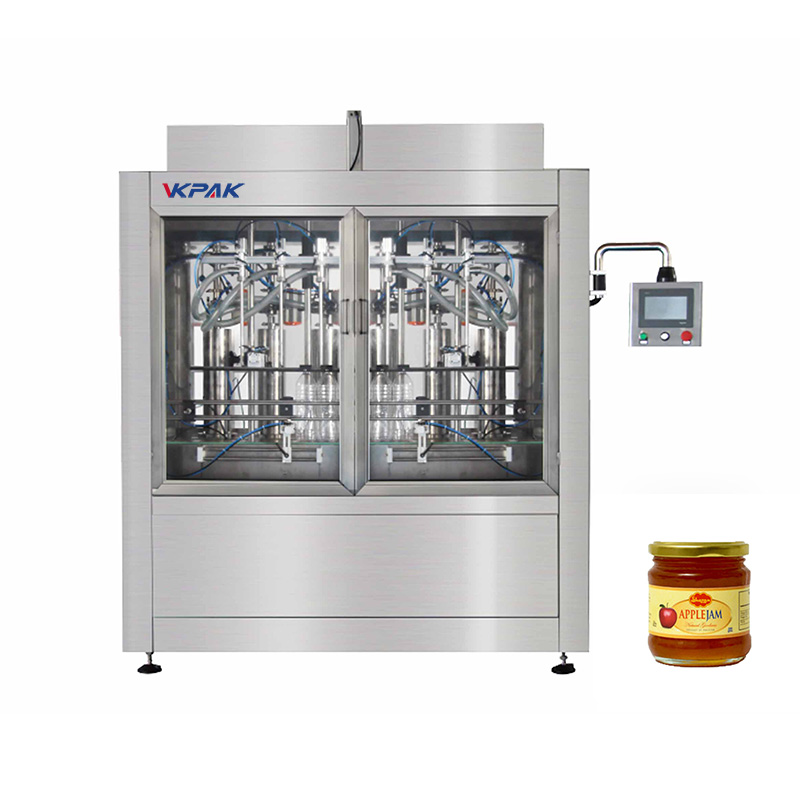 Automatic Piston Type Sauce Filling Machine