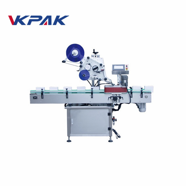 Automatic Pouches Box Card Labeling Machine