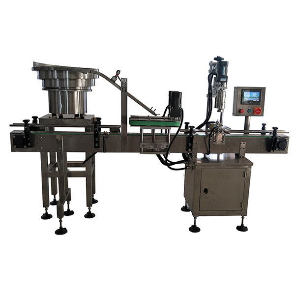 Automatic Single Head Chuck Capping machine