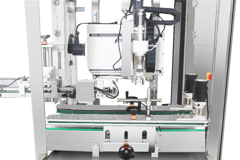 Automatic Single Head Screw Capping Machine Details