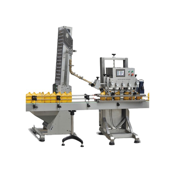 Automatic Spindle Screw Capping Machine
