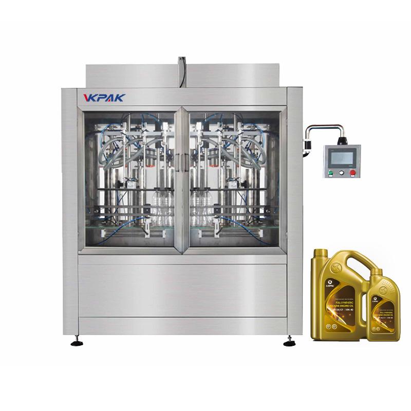 Automatic Viscous Liquid Filling Machine for Plastic Bottles