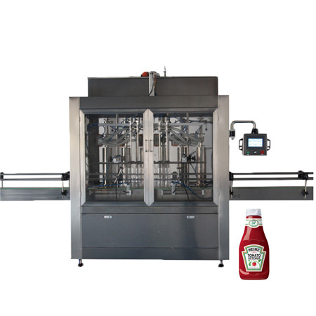Time Gravity Liquid Bottle Filling Machine for Bleach