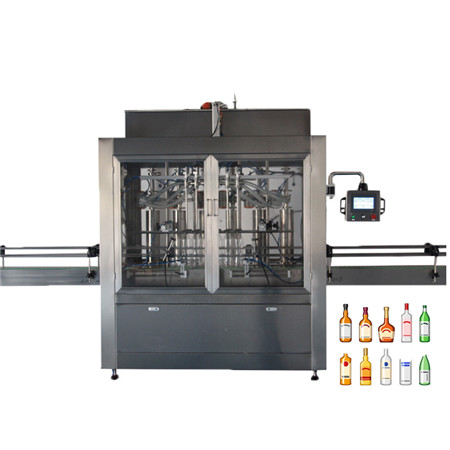 Automatic Liquid Filling Line for Butter Ketchup Oil Paste Honey Filler Jars Bottles Cans Production Line