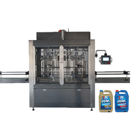 High Speed Glass Bottle Liquid Pure Water Packaging Bottling Filling Machine
