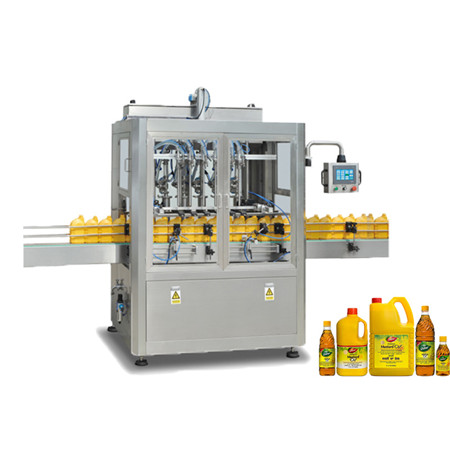 Automatic Liquid Filling Capping Machine Line