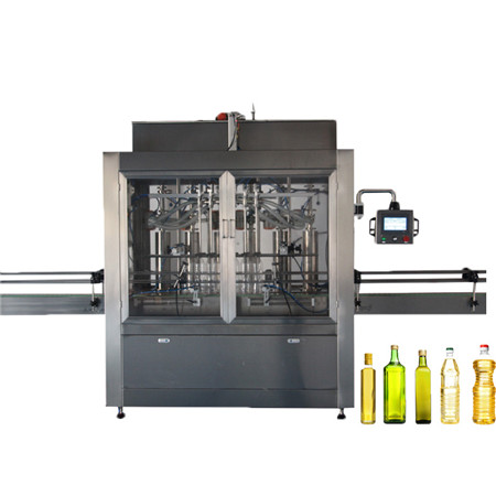High Speed Automatic Edible Oil Olive Oil Sunflower Oil Cooking Oil Lube Oil Brake Oil Petrol Oil Filling Capping Bottling Packing Machine