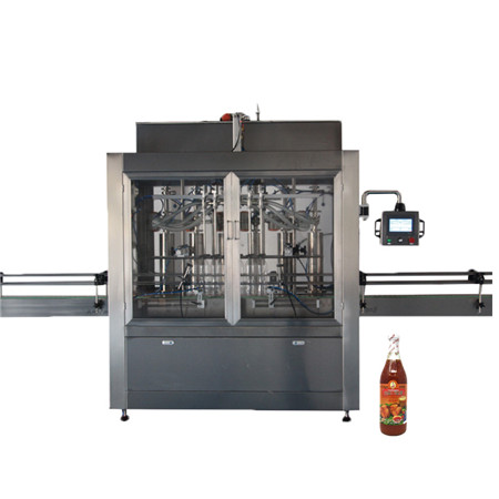 Ppf-50t Hualian Volumetric Piston Filler for Paste, Paste Piston Filler