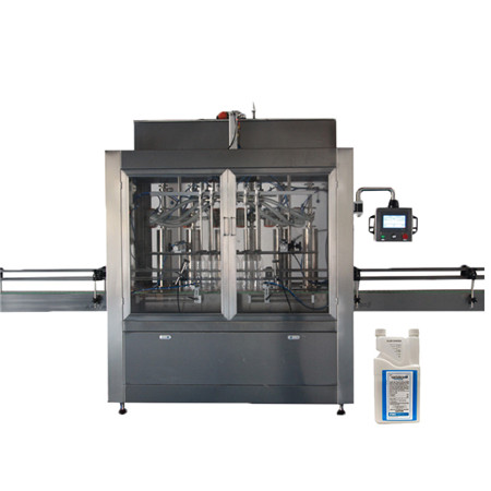 Linear Type Coconut Oil Filling Machine