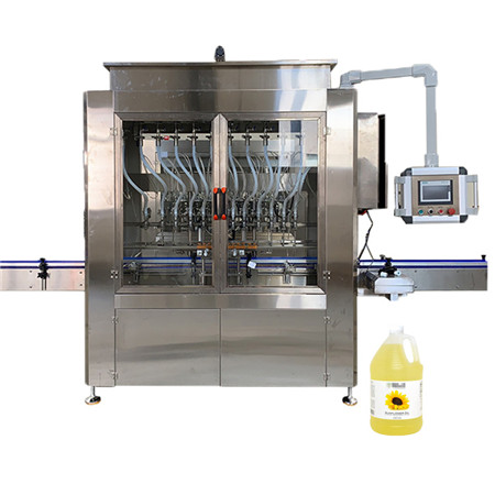 Automatic Pharmaceuticals Ointment Syrup Cream Essential Oil Cosmetic Small Plastic Glass Bottle Filling Capping Sealing Machine