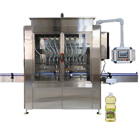 Full Automatic Oil Bottle Filling Machine for Food Oil / Lube / Sauce