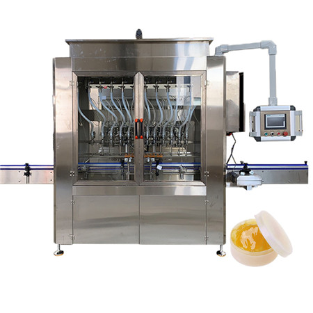 Automatic Edible Cooking Vegetable Oil Filling Machine