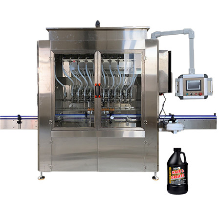 Pneumatic Tomato Chilli Sauce Filling Machine, Glass Jar/Can Volumetric Filler with Horizontal Mixing