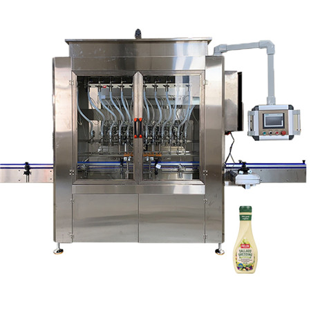 Various Liquid Bottle Sealing Filler with Peristaltic Pump Controlling