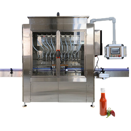 Automatic Chemical Liquid Filling Line