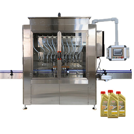 Linear Type Lube Oil Filling and Capping Machine