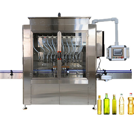 Edible Oil Engine Lube Oil Bottling PLC Controlled Automatic Piston Drive Viscous Liquid Filling Packing Machine