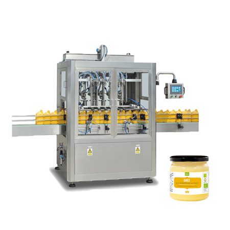 Complete Facial Cream Bottle Filling and Capping Machine with High Speed