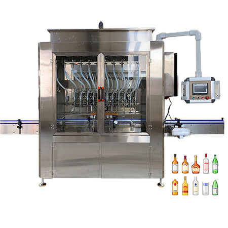 Automatic Anti-Corrosive Detergent Acid Liquid Filling Capping Labeling Machine Line