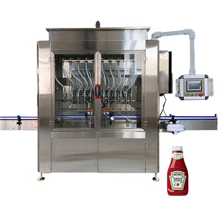 Automatic Gravity Filling Machine for Water/Oil Liquid Product