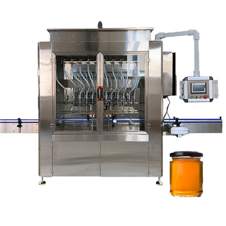 Automatic Plastic Bottle Portable Water Bottling Liquid Filling Machine