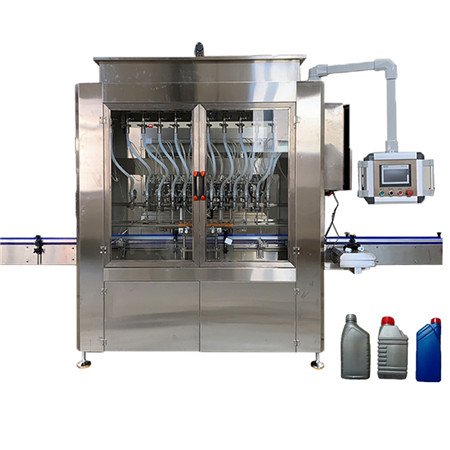 Ppf-2000 Hualian Gas Filling Machine, Paste Piston Filler