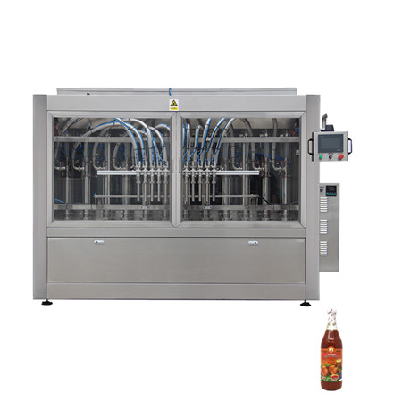 Full Automatic Tomato Paste Hot Sauce Honey Jar Ketchup Filling Machine, Cream/Peanut Butter/Oil/Jam/Liquid Bottling Filling Capping Labeling Machine