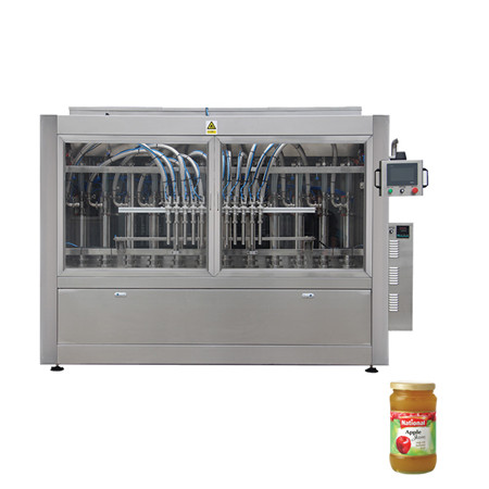 Automatic Linear Piston/Plunger Cooking Oil /Edible Oil/Olive Oil Filling Capping Labeling Machine