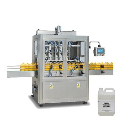 Automatic Liquid Hand Gel Plastic Bottling Machine for Sticky Soybean Oil